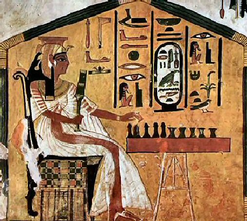 Tuesday tomb qv66 the egyptiana emporium for Ancient egyptian tomb decoration